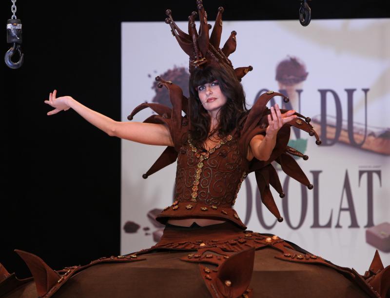 Шоколадная мода из Парижа