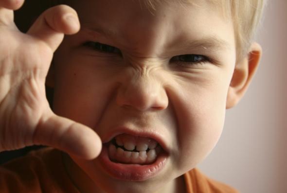 гнев ребенка