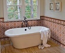 Невозможно представить красивую ванную без оригинальной качественной плитки