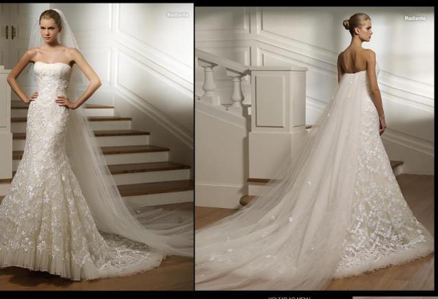Большой выбор платьев позволяет подобрать тот фасон, в котором девушка будет чувствовать себя неповторимой