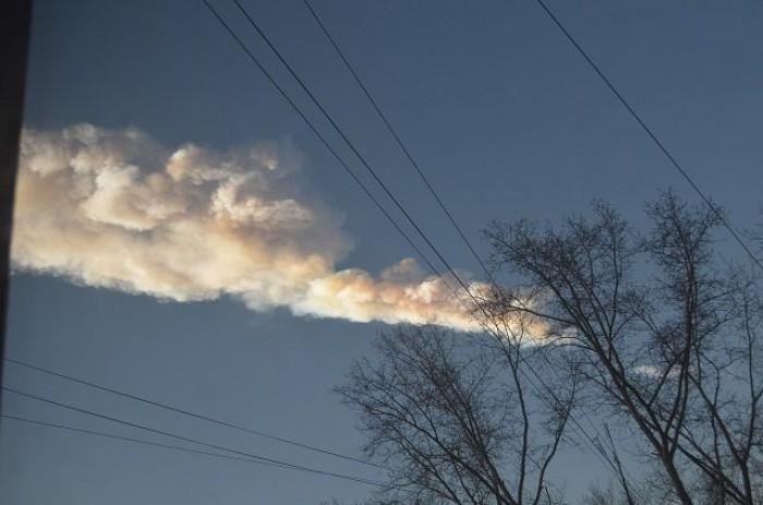 Последствия метеоритного дождя в Челябинской области