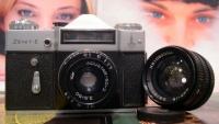 Современная цифровая камера или старенький «Зенит»