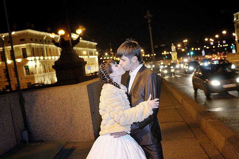 Свадебное торжество в Санкт-Питербурге