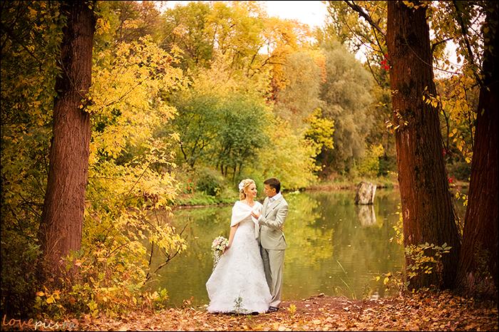 Осень свадебная пора