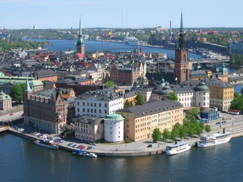 Столица Швеции Стокгольм расположен на 14 островах