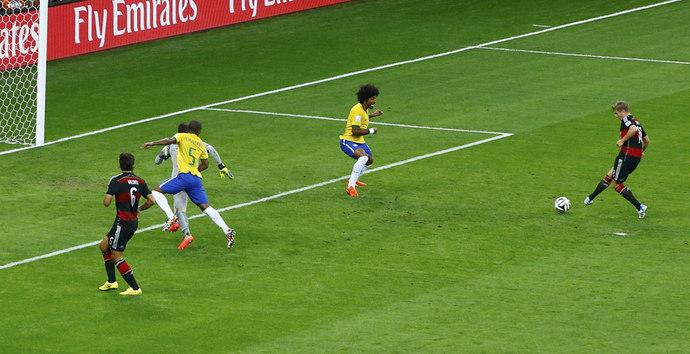 Бразилия - Германия 1 - 7! Сенсация!