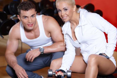 Посещение фитнес зала в Москве