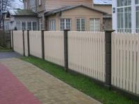 Важная постройка на дачи - забор