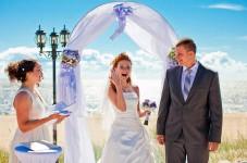 Оригинальная церемония бракосочетания