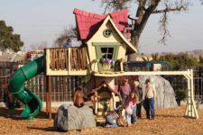 Как создать детскую игровую площадку на даче