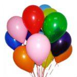 Праздничные шарики с гелием с доставкой
