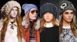 Разновидности женских теплых шапок